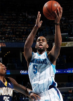 Marcus Thornton will come off the bench this season.