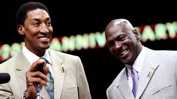 Scottie Pippen Michelle Jordan