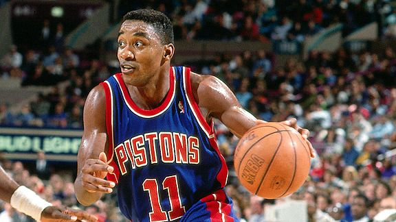 Isiah Thomas regrets walking off the floor without shaking hands ...