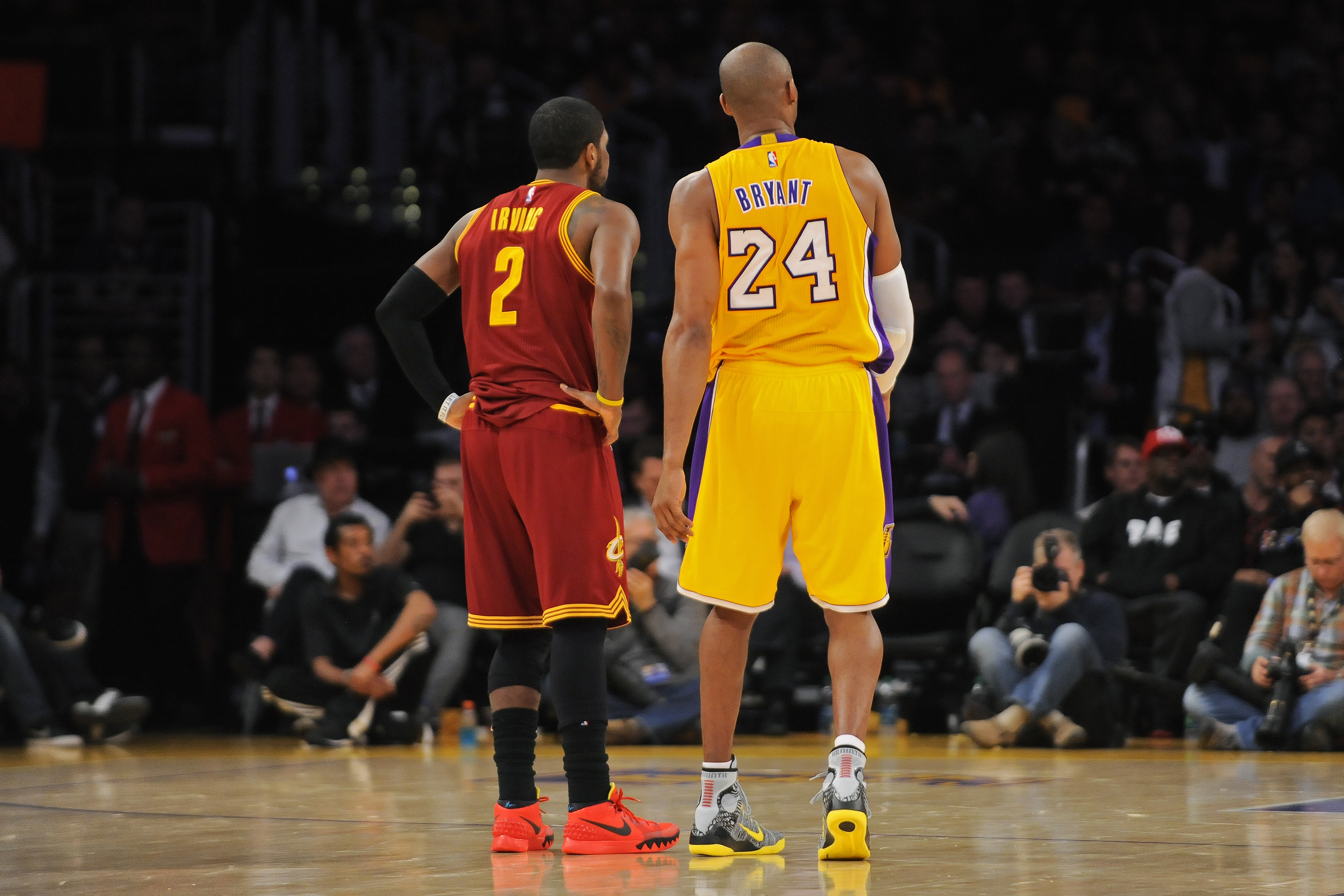Kyrie Irving positioned to join Kobe