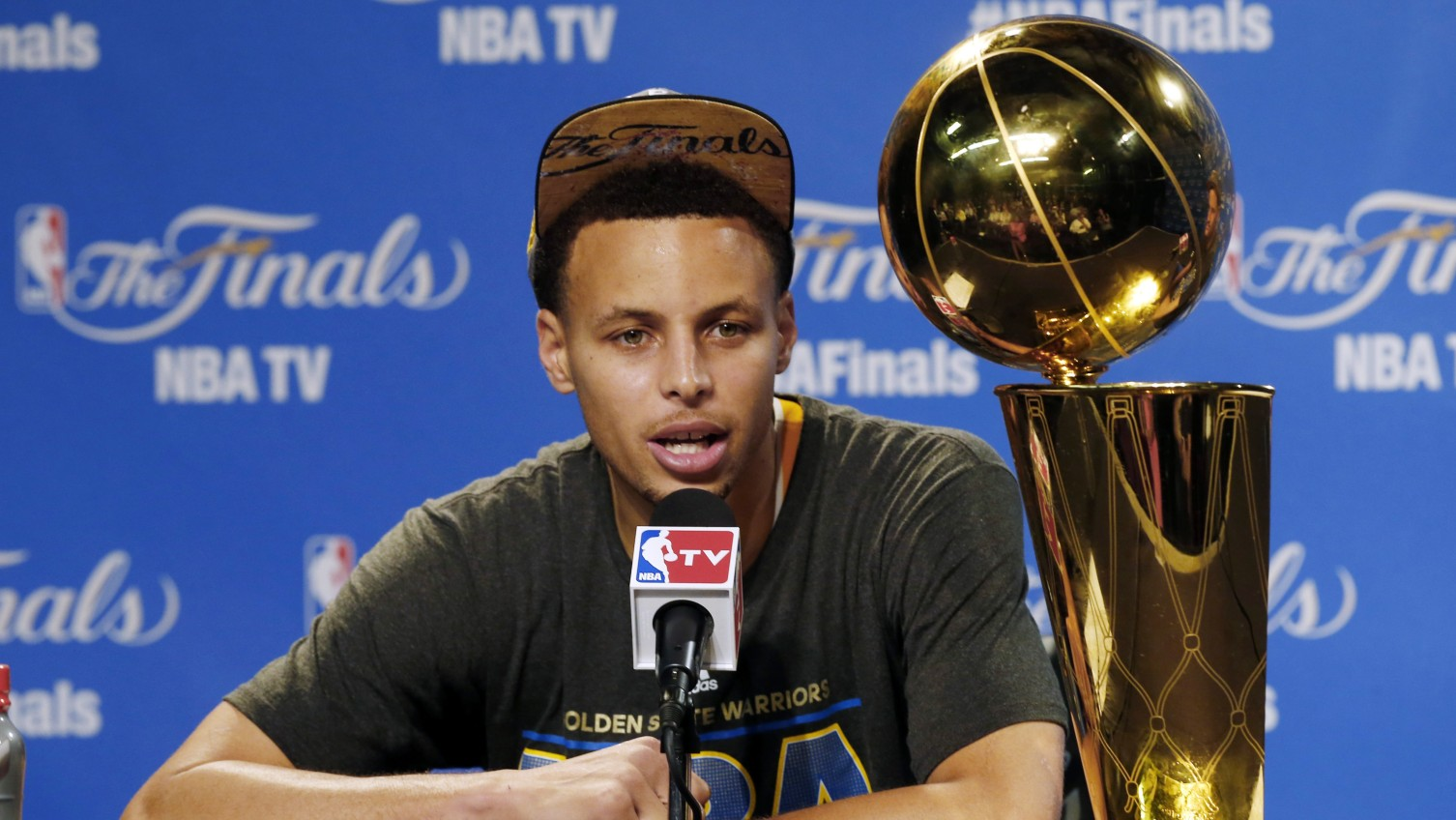 "Stephen Curry on if he'd leave Golden State: ""Hopefully not"""