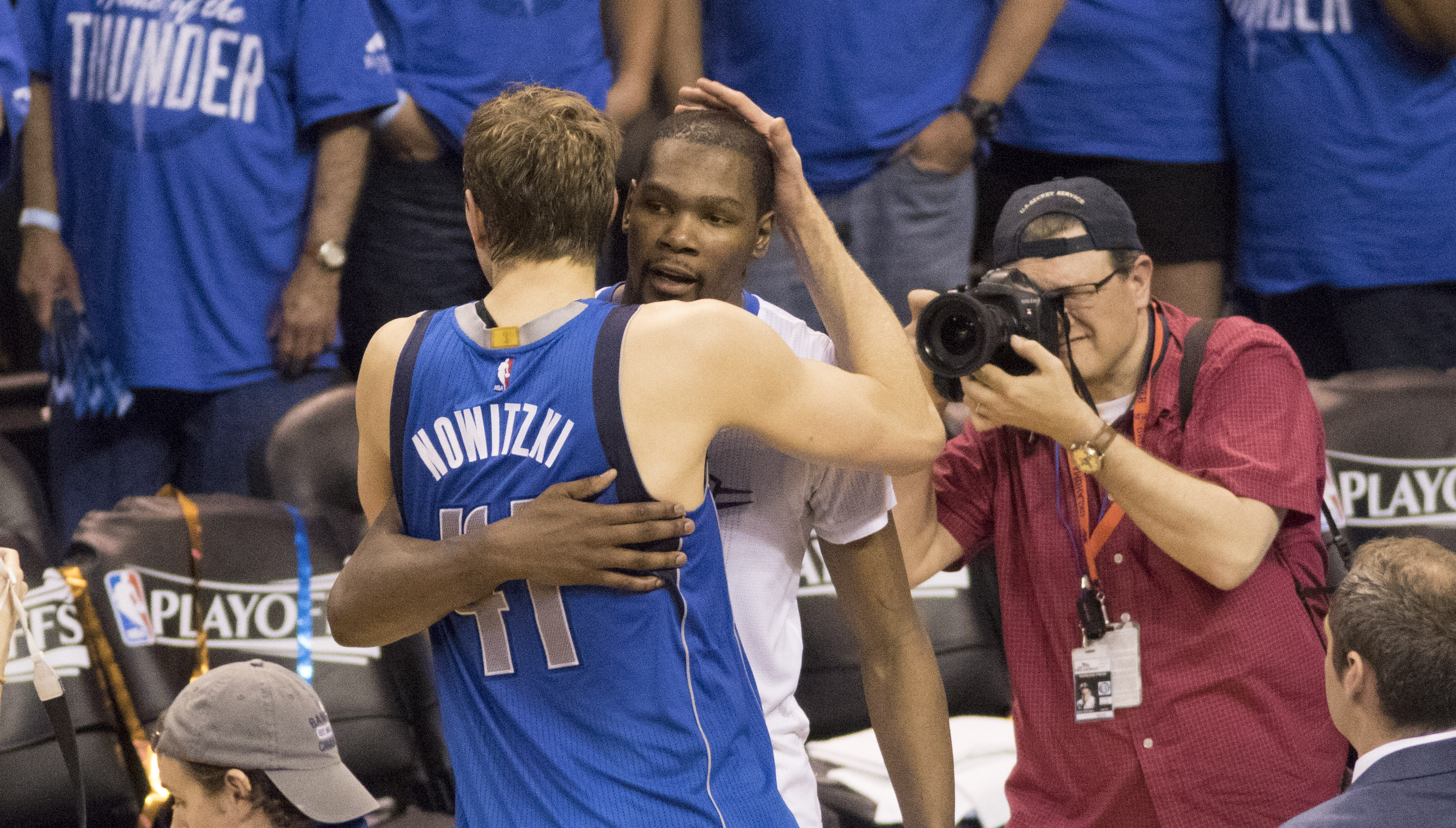 Kevin durant defends okc's iso