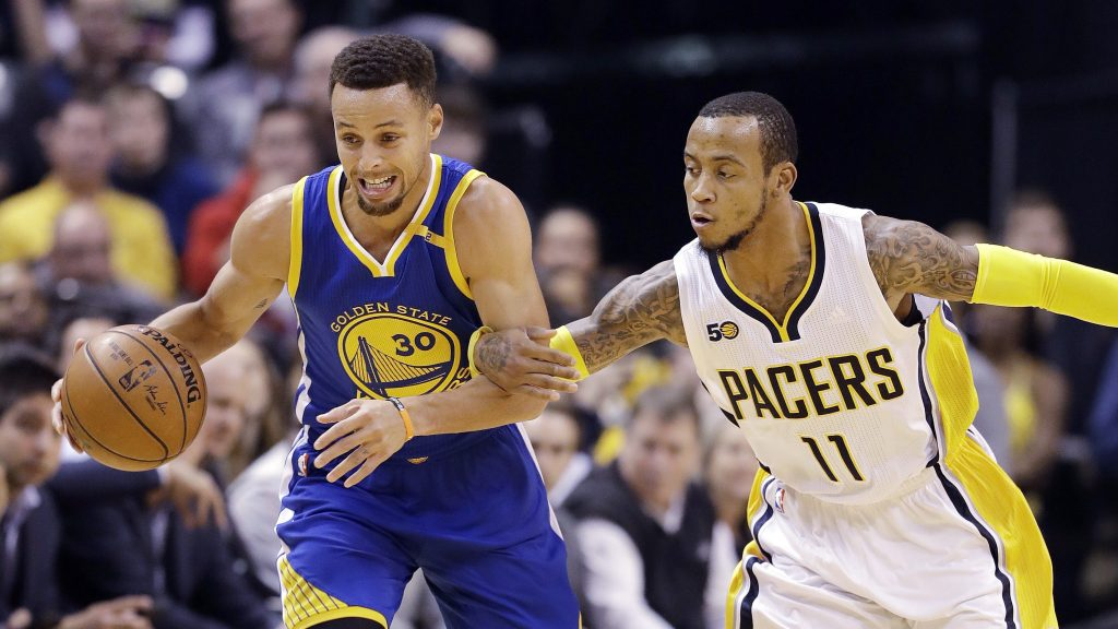 stephen curry monta ellis pacers warriors