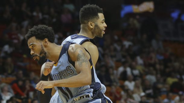 Mike Conley, Andrew Harrison
