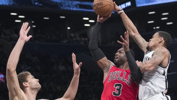 Dwyane Wade Returns But Nets Hand Bulls Potentially Costly