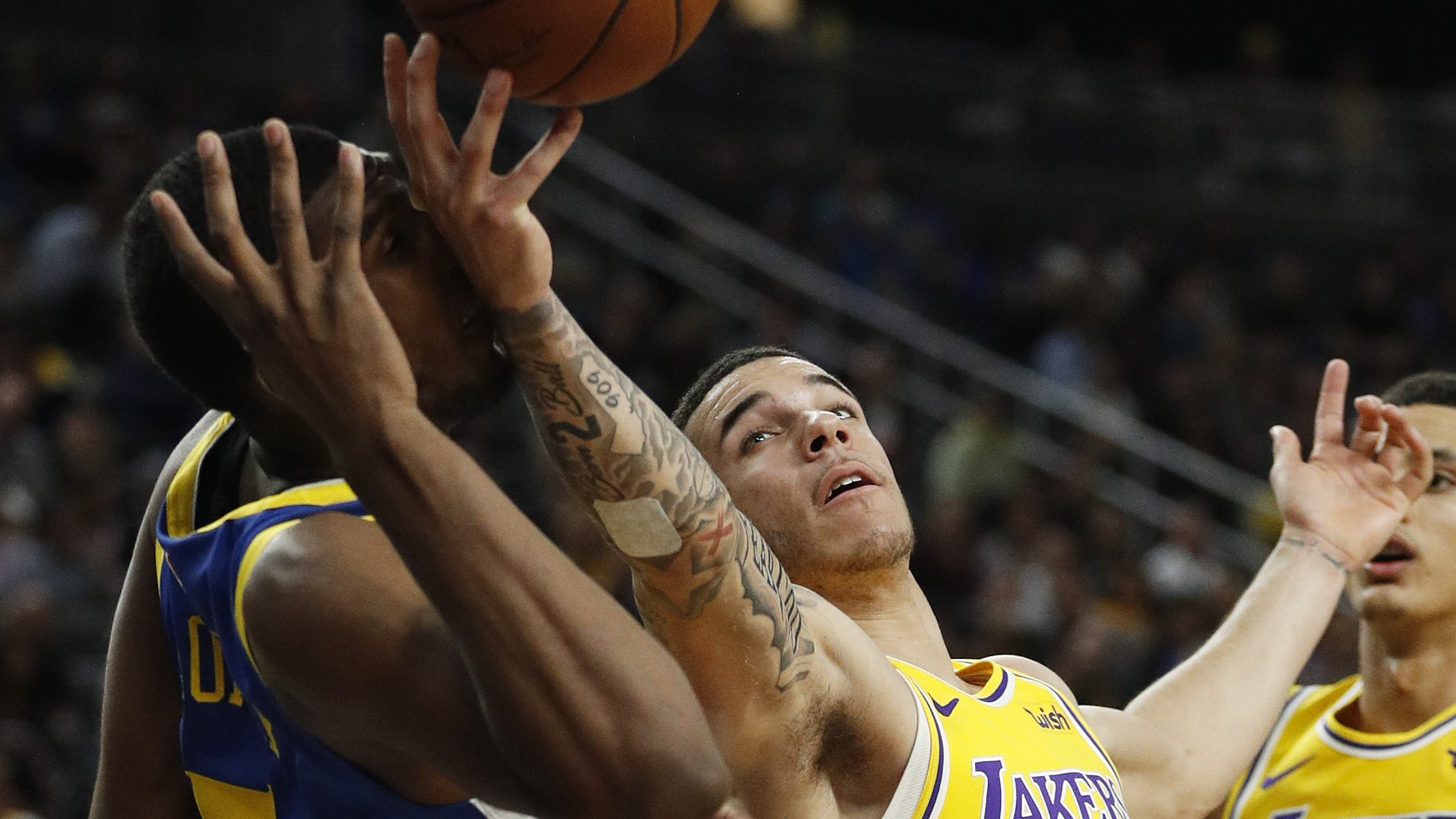 Lonzo Ball Has To Cover Up Big Baller Brand Tattoo During Nba Games Probasketballtalk Nbc Sports