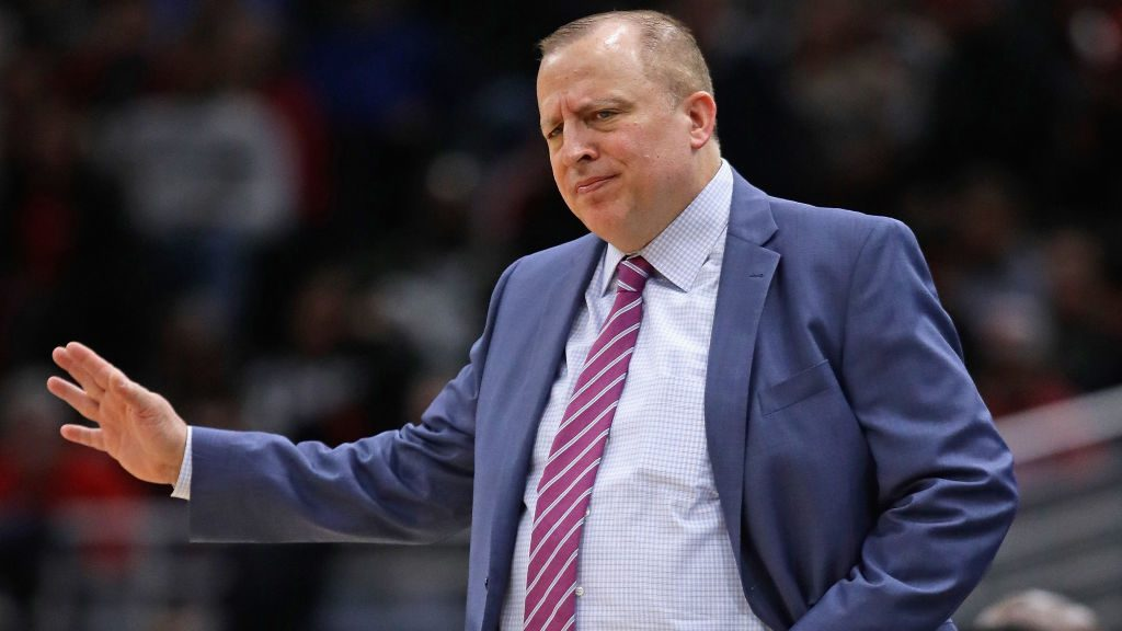 Tom Thibodeau Knicks