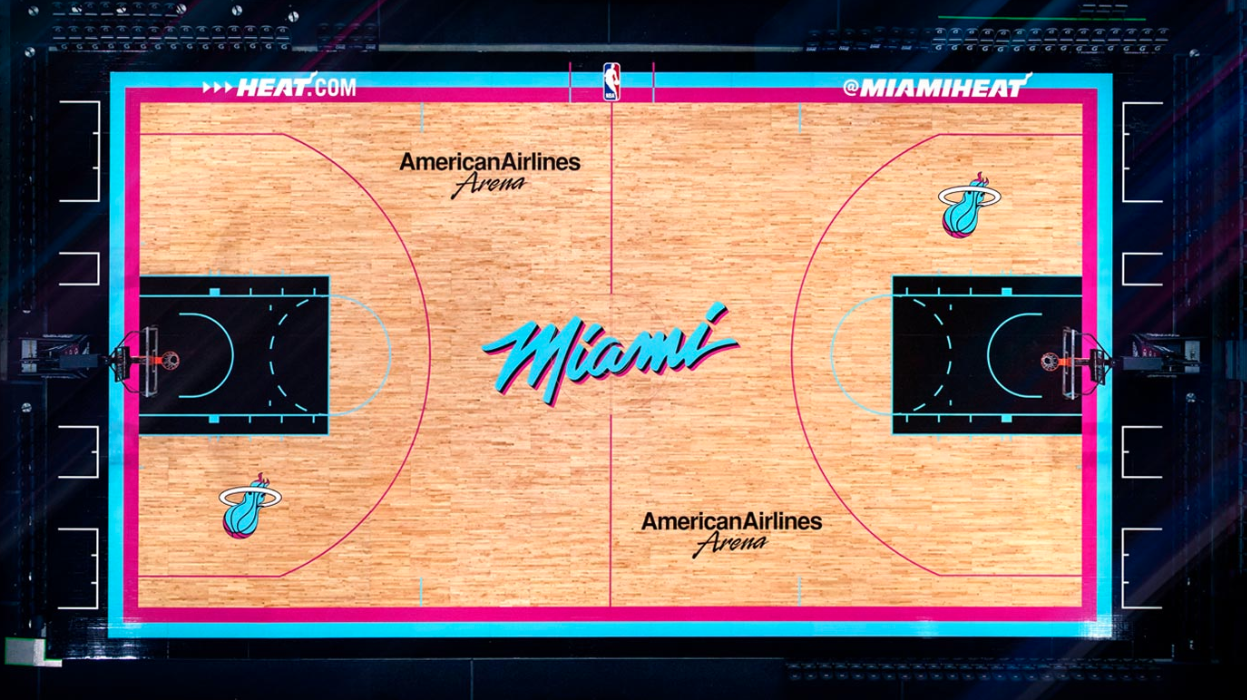 Miami Heat Release New Vice Jerseys Court Probasketballtalk Nbc Sports