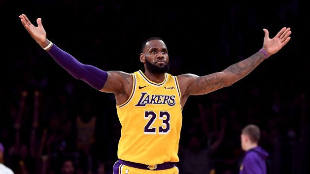 Watch the best dribble moves of LeBron