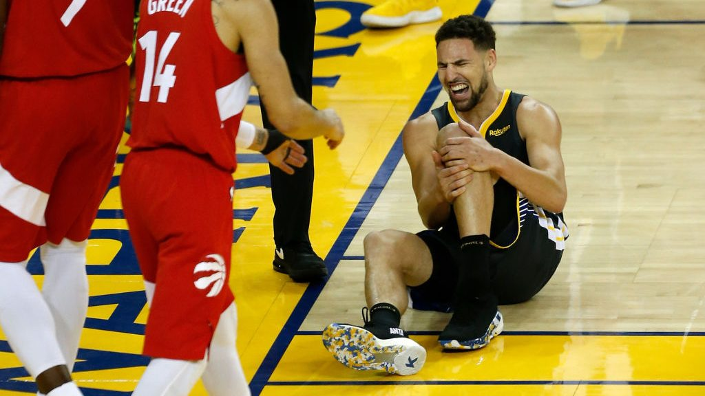 Report: Klay Thompson ruled out for entire 2019-20 season - ProBasketballTalk | NBC Sports