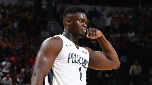 Zion Williamson signs shoe deal with