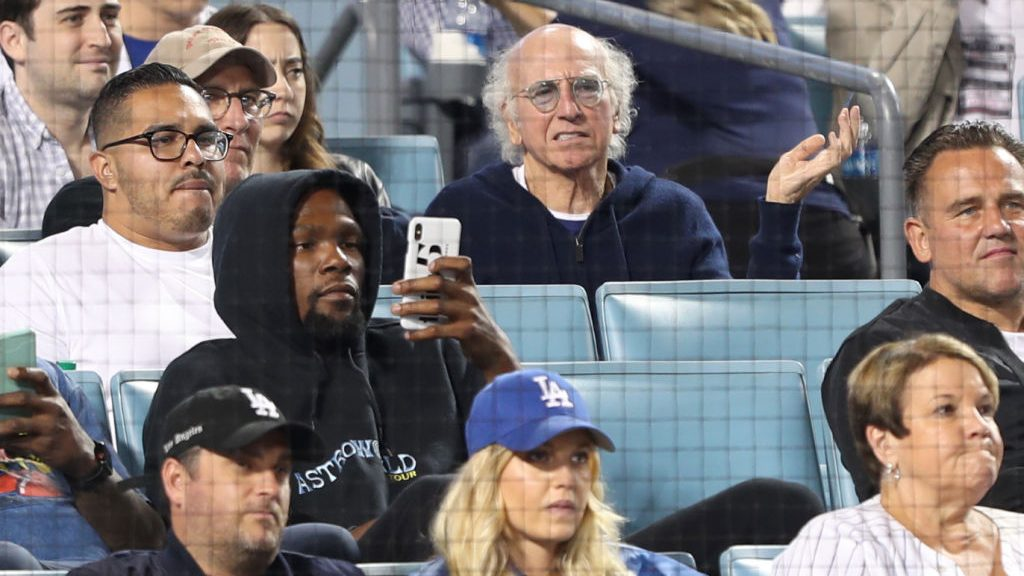 Kevin Durant and Larry David