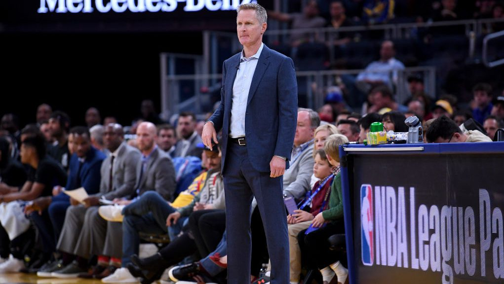 Warriors coach Steve Kerr