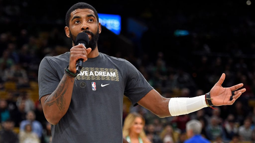 Kyrie Irving on Martin Luther King Jr. Day