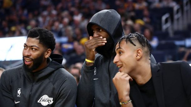 Lakers LeBron James, Anthony Davis, Kyle Kuzma