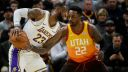NBA All-Star starter voting leader LeBron James vs. Jeff Green
