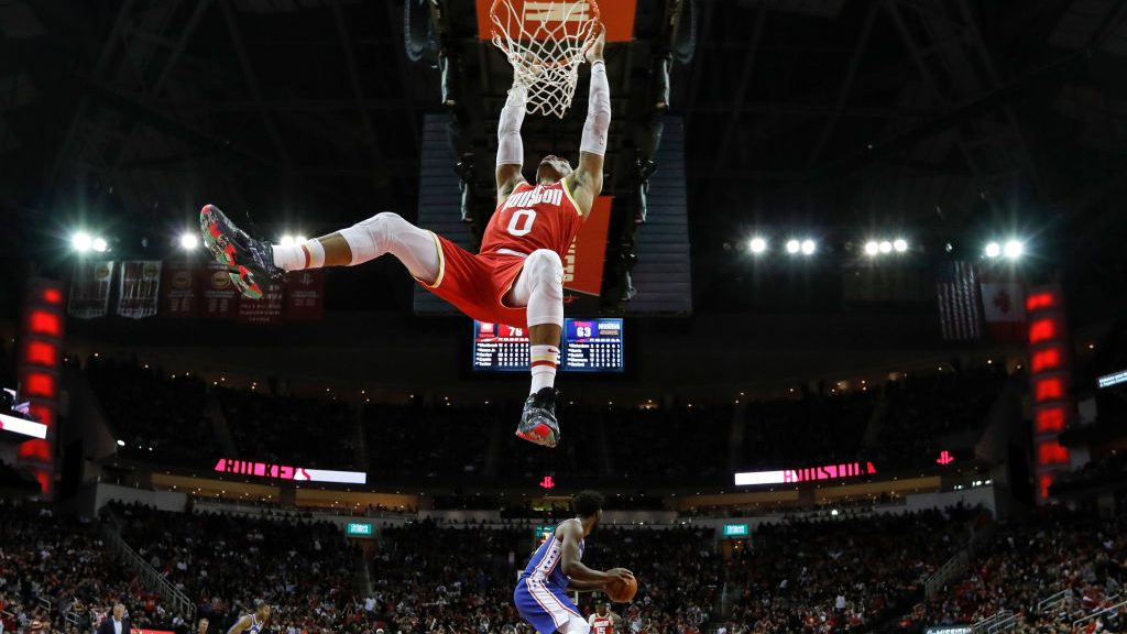 Russell Westbrook Misses Monster Wide Open Dunk Video