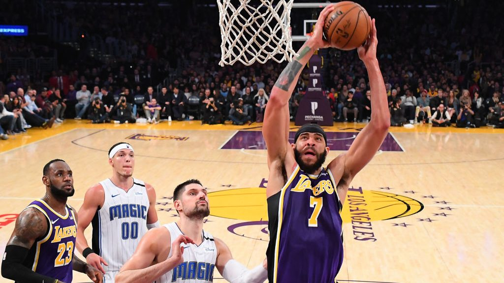 JaVale McGee meets Terrence Ross way above rim for electrifying dunk block (video)