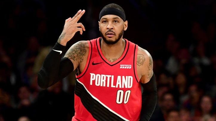 Carmelo Anthony On Playing In Orlando I M Still Up In The Air A Little