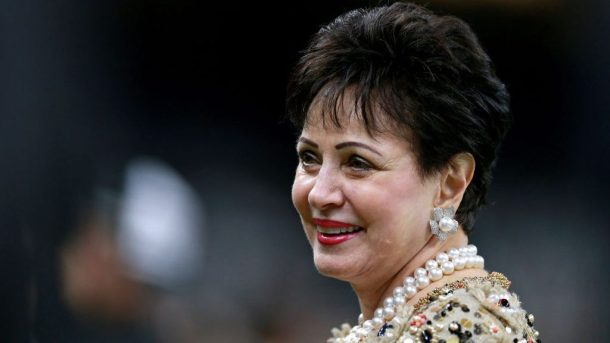 Saints and Pelicans owner Gayle Benson