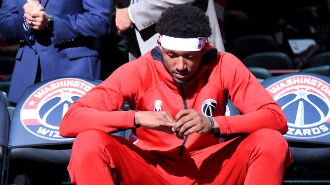 """Frustrated Bradley Beal reportedly """"angry with and emotional about"""" Wizards"""