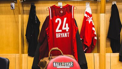Kobe Bryant jersey at All-Star Game