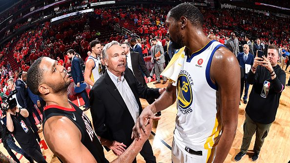 Warriors and Rockets