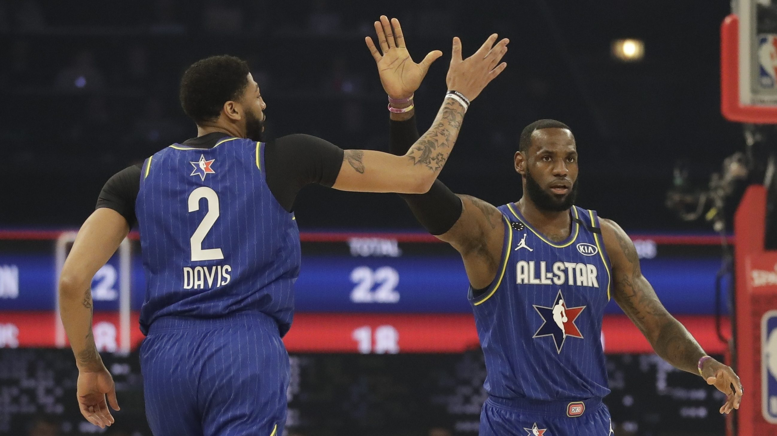 New format — and Team LeBron — big winners in 2020 All-Star Game - ProBasketballTalk | NBC Sports