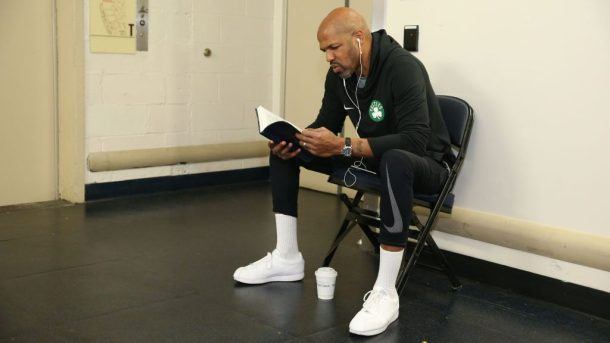 Celtics assistant coach Jerome Allen