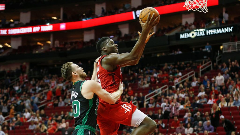 Clint Capela vs. Celtics