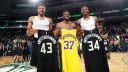 Giannis Antetokounmpo in Bucks-Lakers