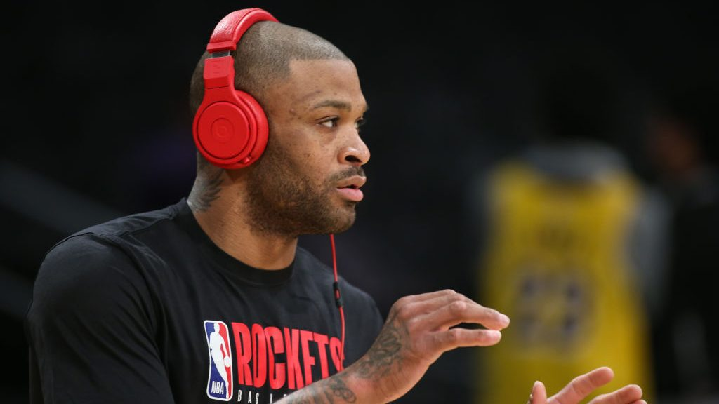 Rockets center P.J. Tucker