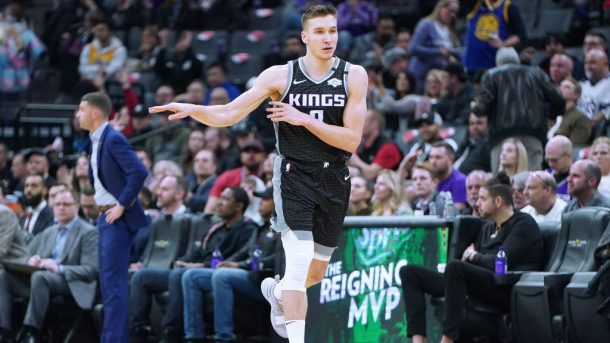 Kings guard Bogdan Bogdanovic