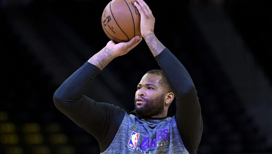 """""""There's a possibility"""" DeMarcus Cousins returns to Lakers for playoffs - ProBasketballTalk 
