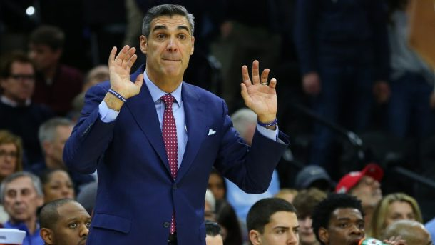 Villanova coach Jay Wright, rumored Knicks target