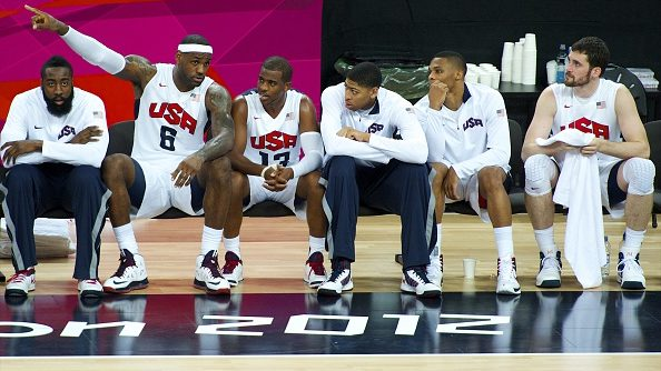 Team USA in 2012 Olympics