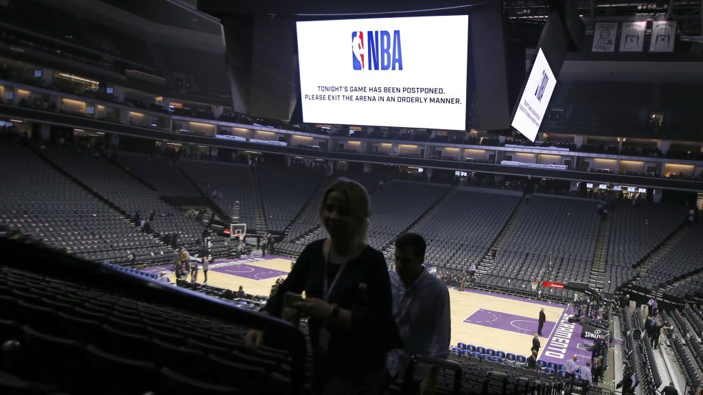 NBA cancels games due to coronavirus