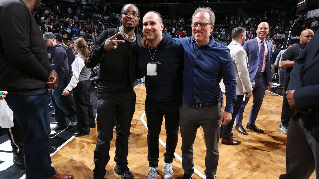 Migos and 76ers owners Michael Rubin and Josh Harris