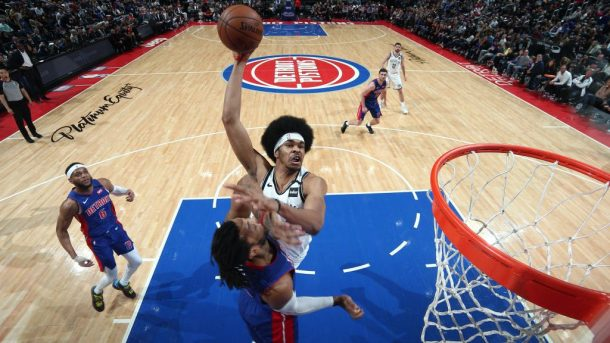 Nets center Jarrett Allen