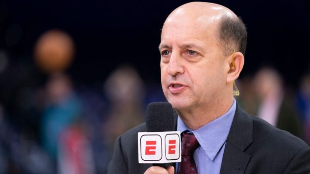 NBA analyst Jeff Van Gundy