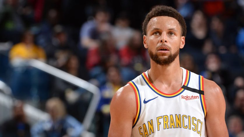 He's back! Watch Stephen Curry score 23 points in return to court - ProBasketballTalk   NBC Sports