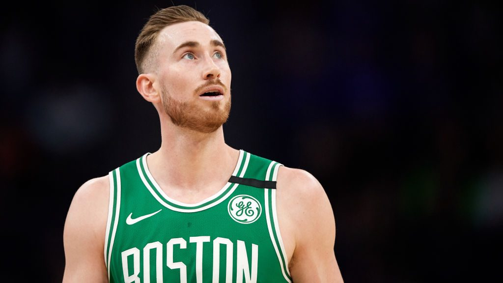 Celtics forward Gordon Hayward