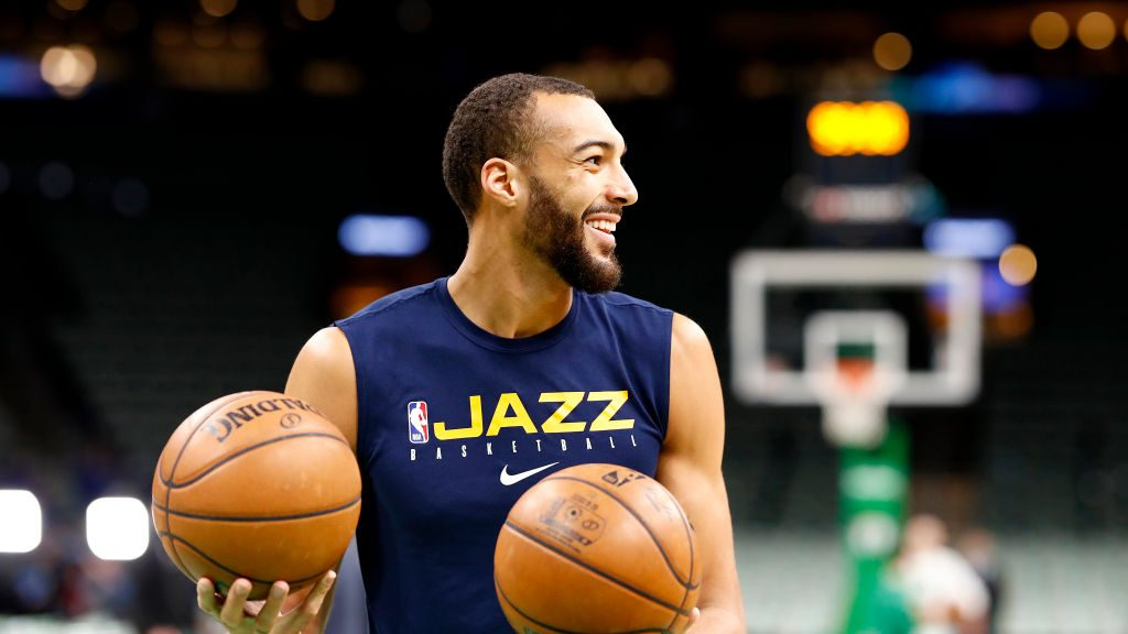Jazz center Rudy Gobert