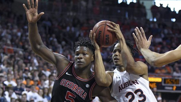 NBA draft entrants: Georgia guard Anthony Edwards and Auburn forward Isaac Okoro