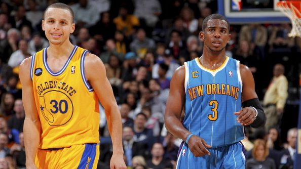 Warriors star Stephen Curry and Chris Paul