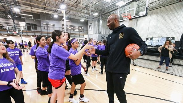 Kobe Bryant at Mamba Sports Academy