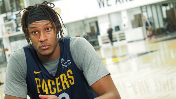 Pacers center Myles Turner