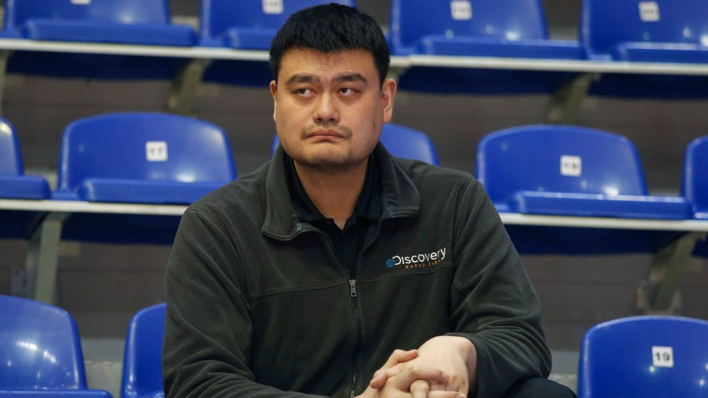 Chinese Basketball Association (CBA) chairman Yao Ming
