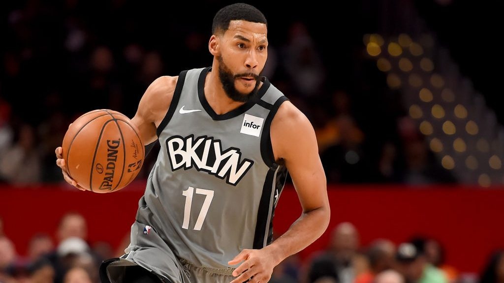 Nets guard Garrett Temple