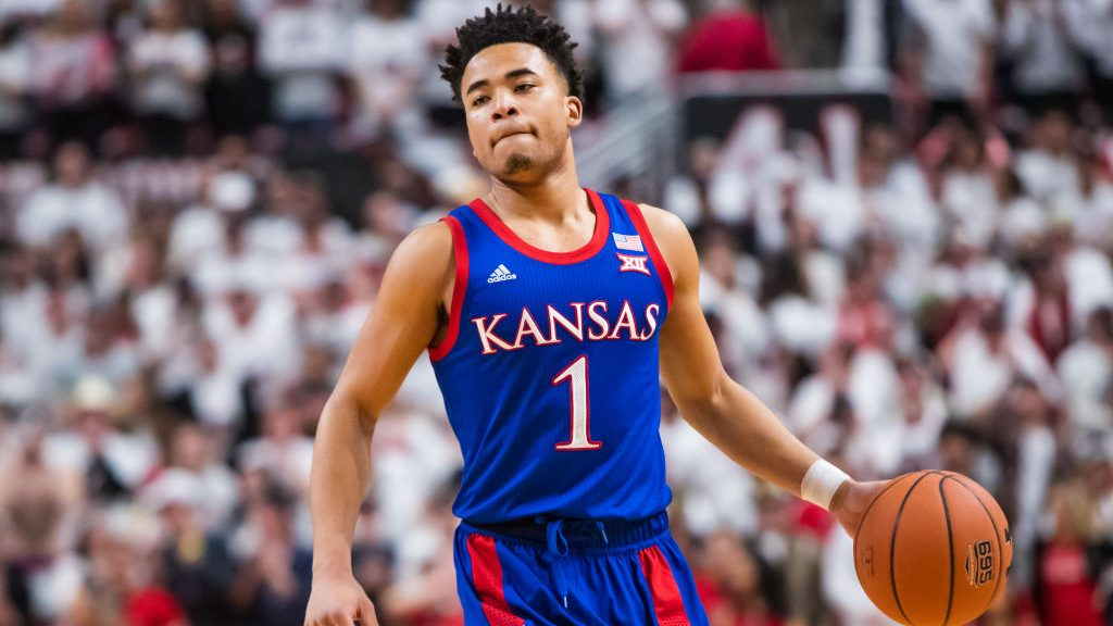 Kansas guard Devon Dotson
